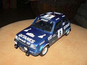 Renault 5 R5 Alpine Groupe 2 Rallye Tdc 79 Ragnotti Gitanes 1/18 Otto Ottomobile