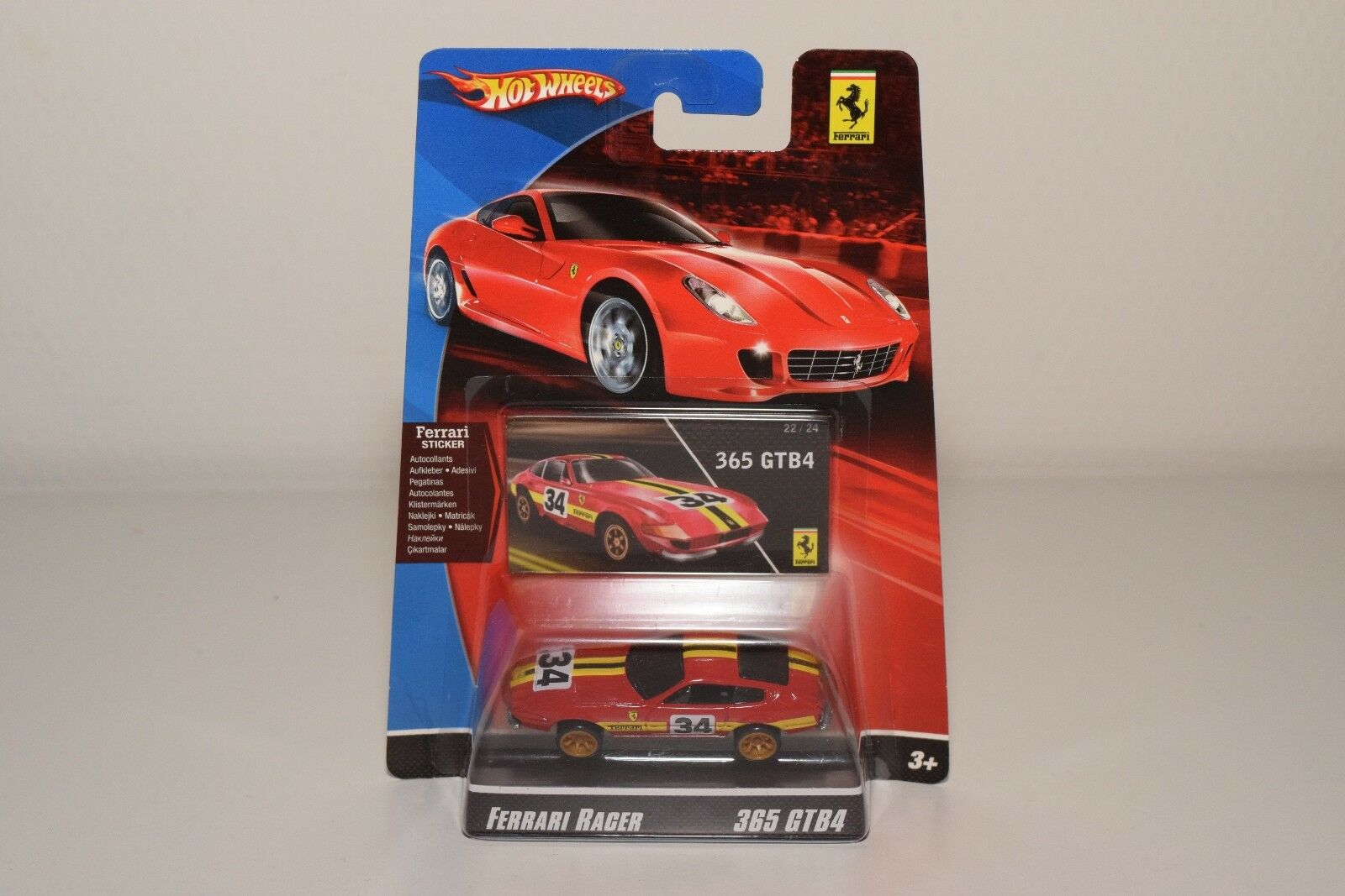 comprar descuentos V 1 64 HOTWHEELS RACER FERRARI 365 GTB 35GTB 35GTB 35GTB rojo RALLY MINT ON CocheD RARE  hasta un 70% de descuento