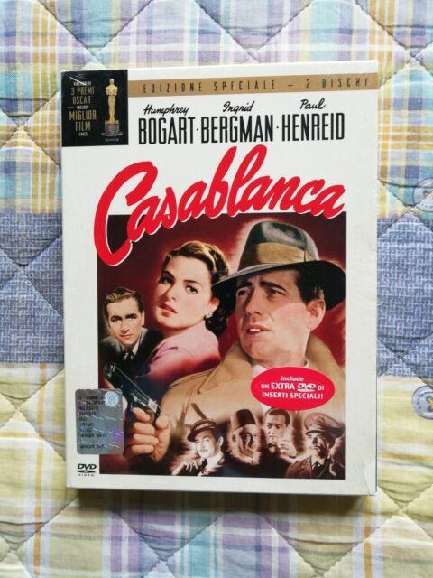 Michael Curtiz CASABLANCA Edizione Speciale 2 dvd digipack slipcase