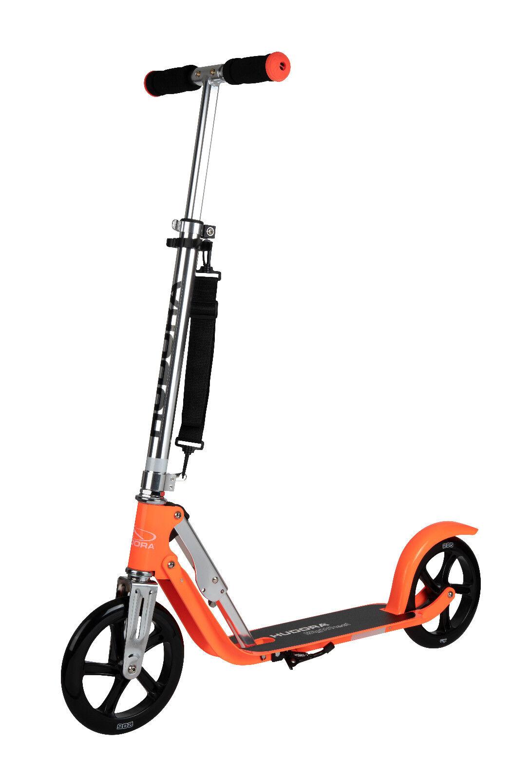 Hudora Scooter   Roller Big Wheel 205 RX PRO limited edition 2019 NEON  | Mittlere Kosten