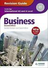 Cambridge International AS/A Level Business Revision Guide by Sandie Harrison, David Milner (Paperback, 2015)