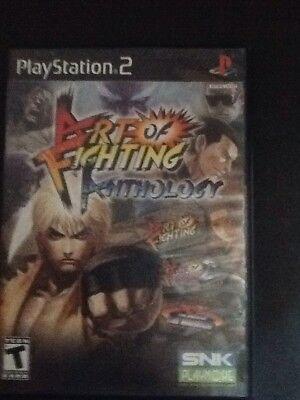 Art Of Fighting Anthology Sony Playstation 2 2007 European Version Ebay