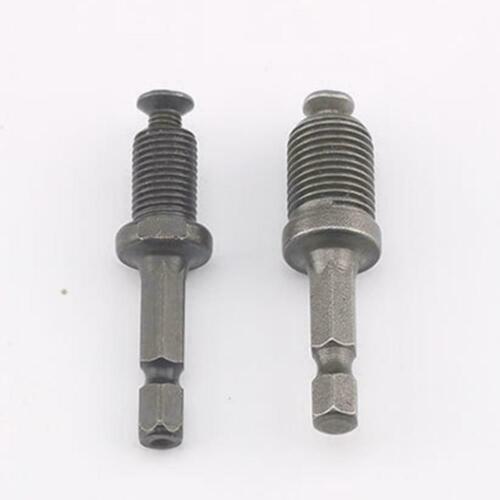 0.8-10mm Keyless Drill Chuck Screwdriver Impact Driver Hex Adaptor Shank N0U6