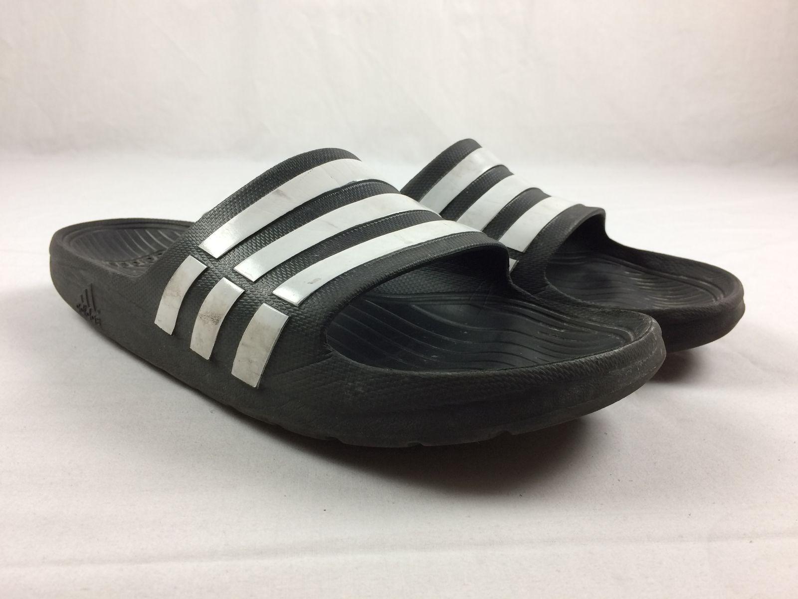 adidas Slides - Black (Men's Sandals & Flip Flops (Men's Black 13) - Used 8904bb