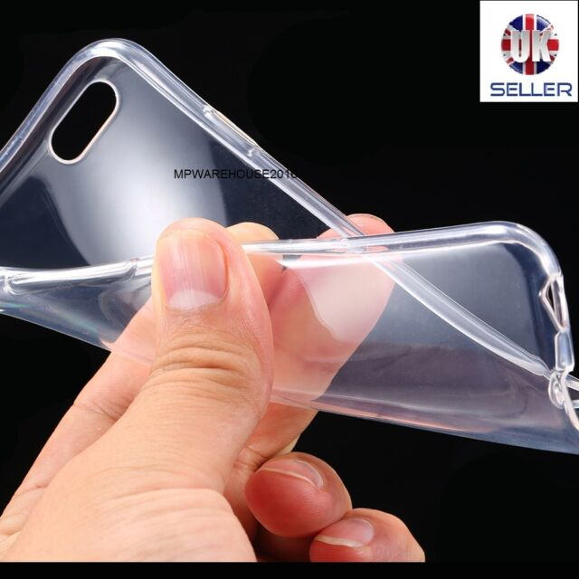 IPhone 7+ Plus New TPU Gel Jelly Skin Crystal Clear Case Cover for 7 Plus