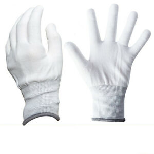 Image Is Loading 3 Pairs Nylon Gloves Labor Glove Protective No