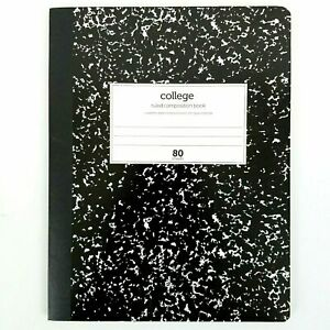 College Ruled Composition Book Office Depot Marbled 7 X 9 80 Sheets