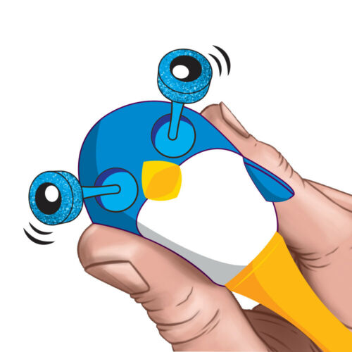 Animal Glittery Pop-Out Eye Ballpoint Pens Dinosaur