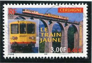 Industrieux Timbre France Oblitere N° 3338 Train Jaune De Cerdagne