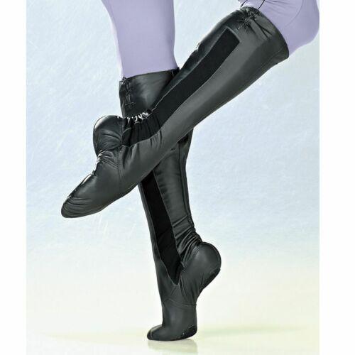 So Danca BAE25 Ballettstiefel mit Manschette Leder Weiß oder Schwarz