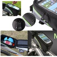 ROSWHEEL BIKE BICYCLE POUCH BAG MOBILE PHONE HOLDER IPHONE SAMSUNG WATERPROOF