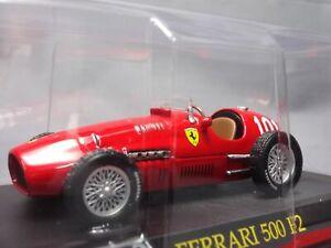 Ferrari-Collection-500-F2-1-43-Scale-Box-Mini-Car-Display-Diecast-vol-72