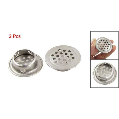 2x Silver Stainless Steel 1 3 Top Diameter Kitchen Sink Basin Drain Strainer T1 Ebay