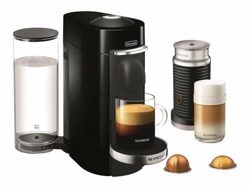 Nespresso Delonghi ENV155BAE VertuoPlus Deluxe Coffee Espresso Machine Black