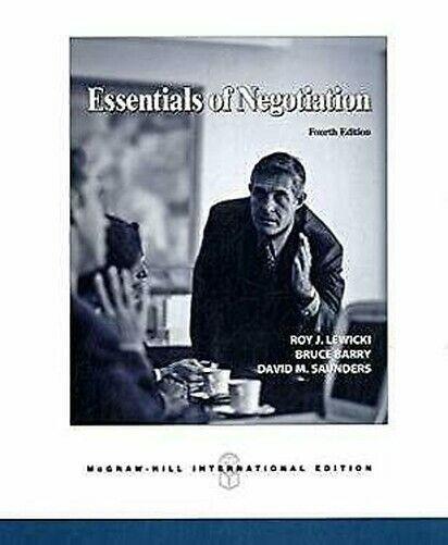 Notwendigste von Verhandlung von Lewicki,Roy J.Saunders, David M Barry, Bruce