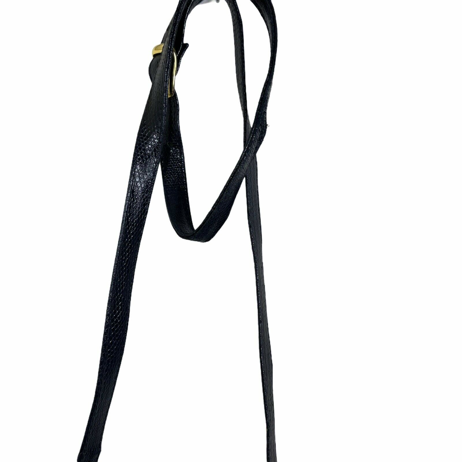 ARNOLD SCAASI NAVY LIZARD LEATHER WITH BOWS WOMEN… - image 8