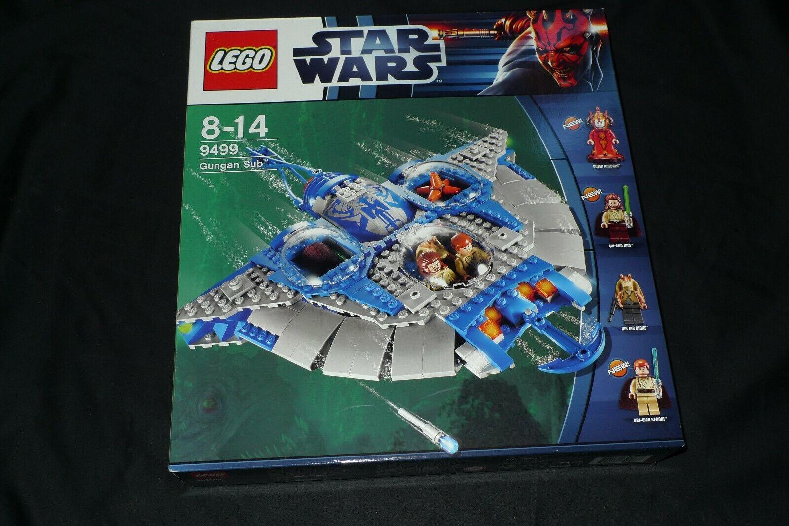 RARO LEGO STAR WARS 9499 - GUNGAM SUB - REGINA AMIDALA -NUOVO FUORI PRODUZIONE