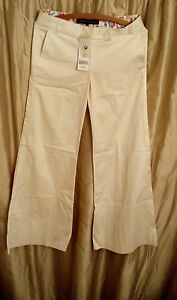 French-Connection-Cotton-Big-Flared-Trousers-Size-6-New-with-tags