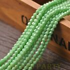 New 200pcs 4mm Bicone Faceted Lustrous Loose Spacer Glass Beads Mint Green