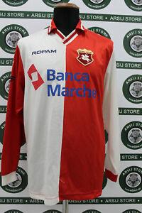 Maglia-calcio-ANCONA-TG-L-shirt-trikot-maillot-jersey-camiseta