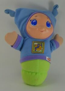 Playskool Blue Lullaby Glow worm Tested and Working Lights and Sound, 2005 Mint