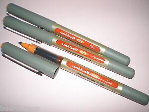 3x-Faber-Castell-Uniball-eye-fine-orange-148115-UB-157-Tinten-Kugelschreiber