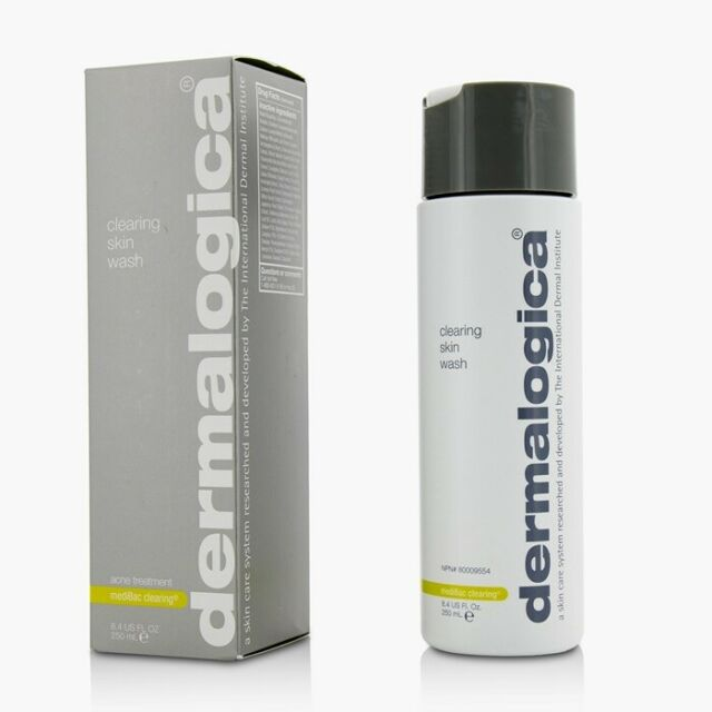 NEW Dermalogica MediBac Clearing Skin Wash 250ml Womens Skin Care