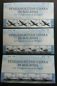 SJ-Air-Transportation-In-Malaysia-2007-Aviation-Aeroplane-stamp-title-MNH
