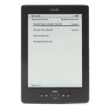 Amazon Kindle 4th Gen - Model D01100 - Wi-Fi, 6in - SILVER/GREY - (B00E) - 6TKC