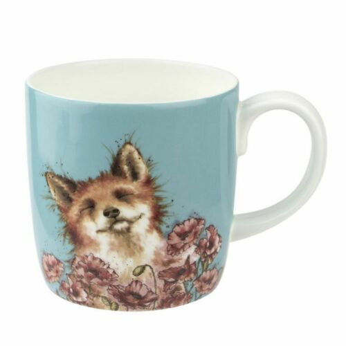 /'Poppy Field/' Lg Boxed Mug Wrendale By Royal Worcester