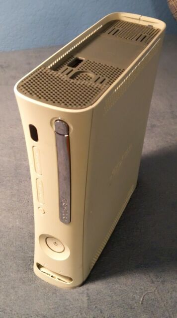 Microsoft Xbox 360 Launch edition White console ONLY + new thermal paste NO HDMI