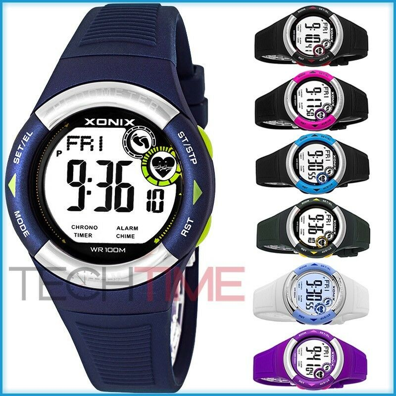 XONIX WR100M Unisex Watch, Heart Rate Monitor, Pedometer and more TOP QUALITY