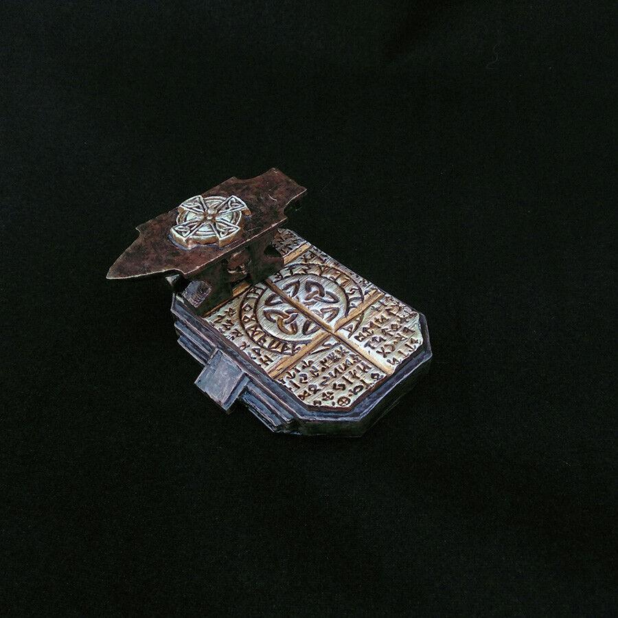 Full Painted Dwarves Anvil Furniture RPG Pathfinder D&D miniature 45x60 mm base