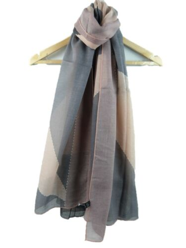 Beautiful Large Block Printed FashionScarf  Soft Shawl Wrap Scarves Hijab Scarf