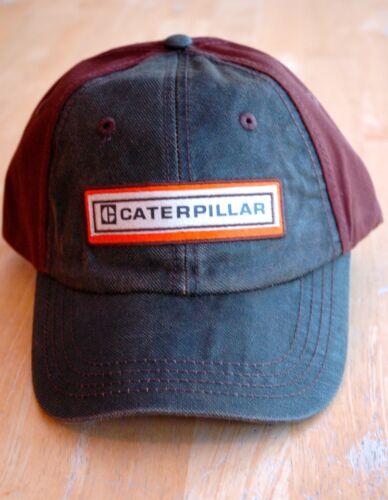 Caterpillar CIREUX CUIR COMME AVANT ET MARRON CHOCOLAT DOS Cat Hat//Cap