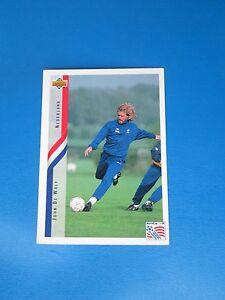 DE-WOLF-NEDERLAND-HOLLANDE-PAYS-BAS-Carte-Card-UPPER-DECK-USA-94-1994-panini