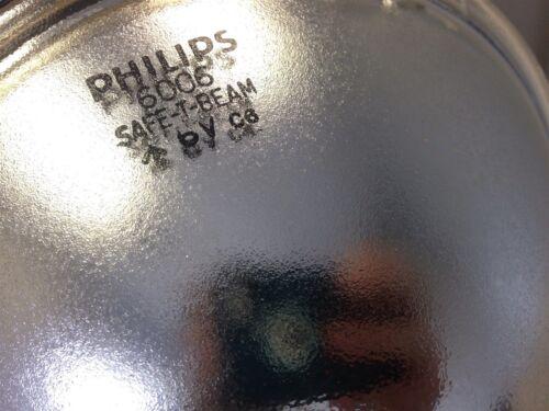 6 Volt Phillips Westinghouse Sealed Safe-T-Beam Headlight Universal Light NEW