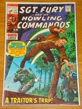 SGT FURY #77 MARVEL COMIC APRIL 1970 VG- (3.5) *