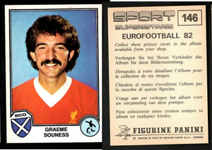 SOUNESS-Liverpool-EUROFOOTBALL-82-SPORT-supertsars-EDIZIONI-Panini-Nuovo-di-zecca-146
