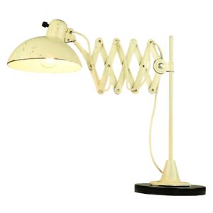 Kaiser-Idell-Scheren-Leuchte-Tisch-Telegrafen-Lampe-Vintage-Bauhaus-30er-50er