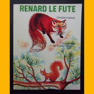 RENARD-LE-FUTE-Christian-Halless-M-Kerever-1974
