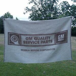 General Motors 100 Virgin Wool Throw Blanket Alafoss