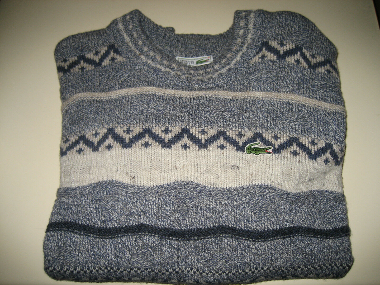 France In Vintage 976c5c Pull Lacoste Made Laine Devanlay wYfwxH6qa7