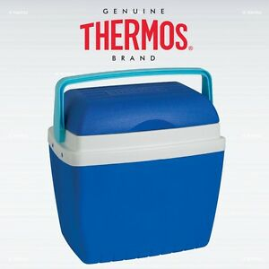 thermos cool box 32l blue. Black Bedroom Furniture Sets. Home Design Ideas