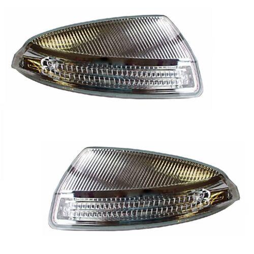 Mercedes C Class W204 Saloon 2007-2008 Wing Mirror Indicators 1 Pair O//S /& N//S