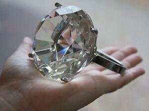 NEW-Glass-Diamond-Engagement-Ring-Napkin-Paperweight-Wedding-Favor-Cake-Topper