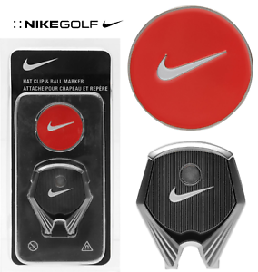 f45ac84f8be New NIKE GOLF Hat Bag Clip   Ball Marker - Magnetic - Cap Visor ...