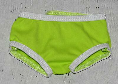 AMERICAN GIRL LEA LIME GREEN UNDERWEAR ONLY FROM TROPICAL MEET DRESS  NEW