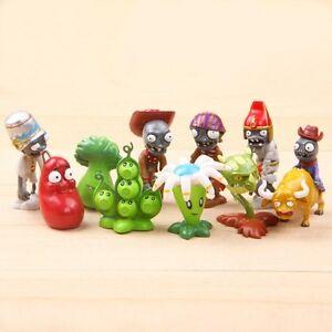 Zombies 2 dolls Anime action figure pvz PVC Kids Gift 10 10ps//set New Plants vs