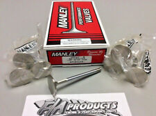 1.94 BIG BLOCK CHEVY EXHAUST VALVES .100 LONG 5//16 VALVE STEM STAINLESS SET OF 8
